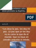 TEMA 14 No Nos Quedamos Solos Jesús Promete Su Espíritu