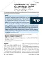 Tailored vs. Standardized Internet-Based Cognitive Behavior Therapy for Depression and Comorbid Symptoms- A Randomized Controlled Trial