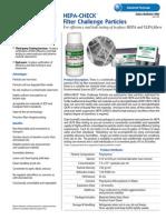 HEPA CheckFilterChallengeParticles
