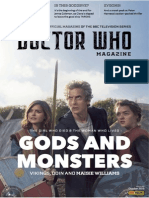 DWM Gods and Monsters (2012) Concept Cover 01