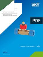 DS Turbine Flow Sensors