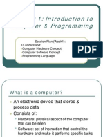 COMPUTER PROGRAMMING (TMK 3102) LECTURE NOTES 1