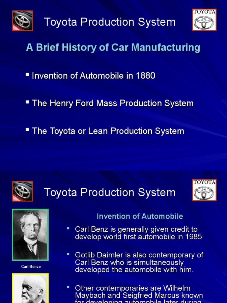 ford production system lean manufacturing