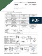 MQ 3 Datasheet