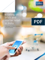 Colliers India Impact of Etailing on Brick Mortar Retail11092015
