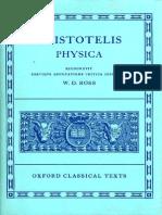 (Oxford Classical Texts Series) Aristotle, David Ross-Physica-Oxford University Press (1951).pdf