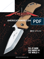 Emerson Knives Catalog 2014