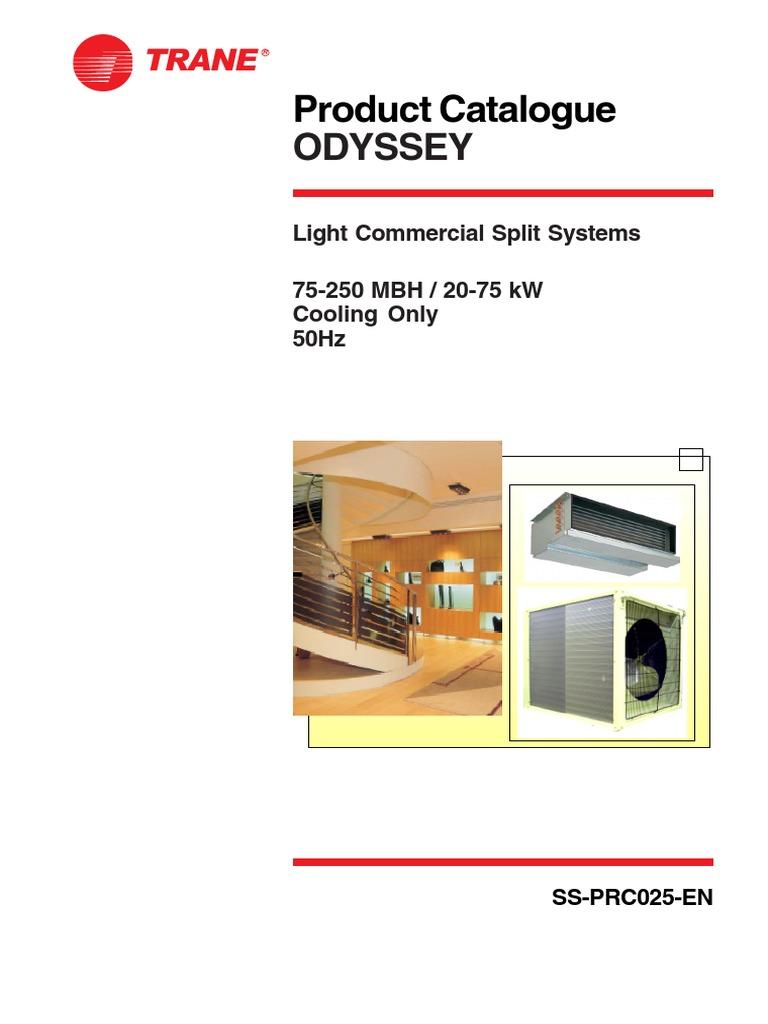 Trane Ac Tta Tth Catalogue | Gas Compressor | Mechanical Fan