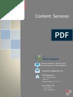 Catalog Content Processing Brochure