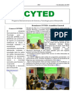 Boletín Cyted Nº27 2015 Web