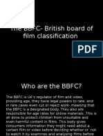 The BBFC and their age rating work