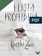 Zan, Koethi - La lista prohibida [26394] (r1.0).epub