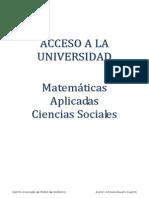 Apuntes Matemáticas Ciencias Sociales