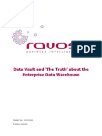Data Vault and the Truth About the Enterprise Data Warehouse