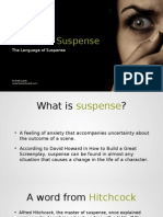 The Langauge of Suspense