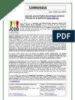Communiqué_JCDB