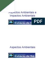 Aspectos Ambientais e Impactos Ambientais Apresentao 1207055708234886 3