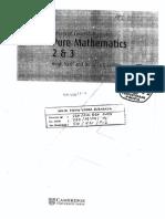 Advanced Level Mathematics Pure Mathematics 2 Dan 3 (Hugh Neil and Douglas Quadling)