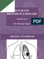 SUPURATII BRONHO-PULMONARE