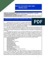 Ensino de Cm Relatório de Avaliação Final Jan11