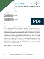 Los Hábitos Como Fin Educativo Para El Desarrollo de La Consistencia Social - Millan, Romero, Mtz - UCMadrid