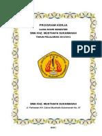Program Kerja Ujian Akhir Semester Tahun 2013 Sma Khz Musthafa
