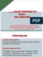 Prosedur Inspeksi K3.
