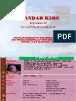 Standar k3rs Permenkes 1087