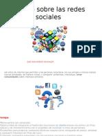 Trabajo Sobre Las Redes Sociales