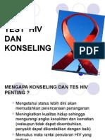 HIV and AIDS Tes Dan Konseling