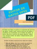 Equipo 8 Editor de Datos Spss