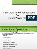 Diesel Power Plant Systems