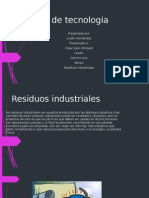 residuos industriales