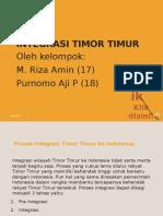 Integrasi Timor Timur