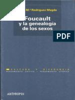 Rosa Ma. Rodriguez Magda - Foucault y La Genealogia de Los Sexos