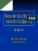 Ruolo Del Core Stability Nell'Attività Sportiva