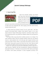 7 Sejarah Cabang Olahraga