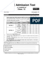 At 1516 Sample Paper Class 12 Paper 2