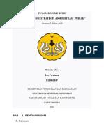Resume Enam Dimensi Strategis Adm Publik