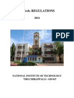BTech Regulations 2014