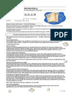 to parents november 24 2015 - report cards and parent-teacher meetings