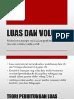 Luas Dan Volume
