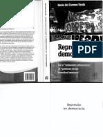 Represión en Democracia, María Del Carmen Verdú
