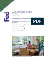 Service Guide 2015