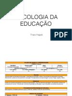 Aula1 -Psicologia da Educação