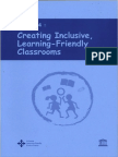 Creating Friendly Classroom