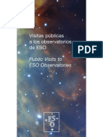Public Visits to ESO Observatories