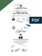 Certificados de Formacion Academica