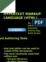 Seminar on HTML