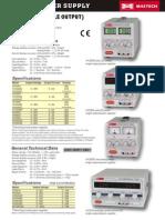 PSU HY-5005 Datasheet En